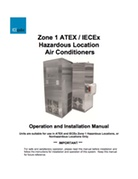 Zone 1 ATEX / IECEx Hazardous Location Air Conditioners