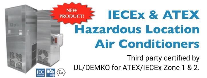 IECEx & ATEX Zone 1 & 2 Hazardous Location Air Conditioners