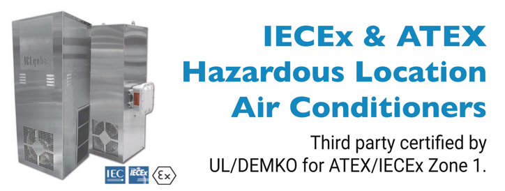 IECEx & ATEX Zone 1 Hazardous Location Air Conditioners